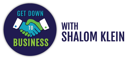 Meg Schmitz with Shalom Klein on Get Down To Business
